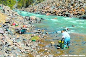 Clear Creek, Colorado Mining