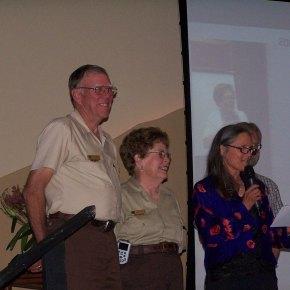 National Park volunteers receive prestigiousaward