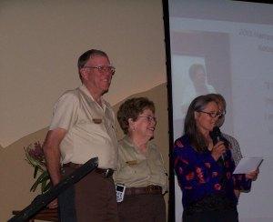 Levertons Receive Regional Hartzog Award