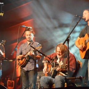 Yonder Mountain String Band and John Bell at Kinfolk Festival on Planet Bluegrass, Sept. 19