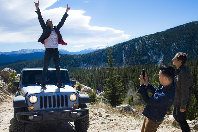 O A R Members Visit St Mary S Glacier Before Jeep On The