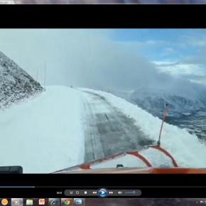 Trail Ridge Road temporarily closed by 2 to 3 foot snowdrifts