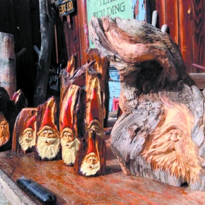 Empire artist's unique, hand-carved Santas popular with collectors