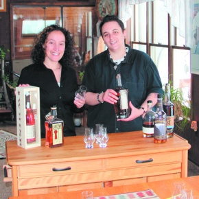 Pair create business from love of tasting whiskey