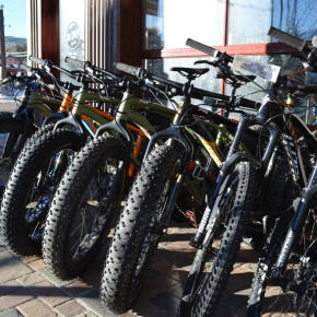 COVER: Fat bikes add wintertime options for cycling, snow enthusiasts