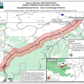 Forest Service order protects Mount Evans scenicgateway