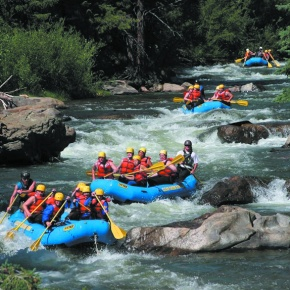 COVER STORY: Front Range rivers provide unique, exciting whitewater rafting experiences