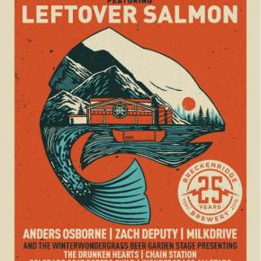 Celebrate 25 years with Breckenridge Brewery and LeftoverSalmon