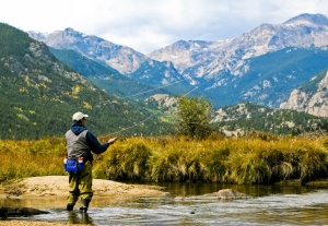Placing the perfect cast near Rocky Mountain National Park