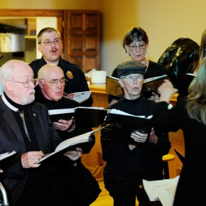 Choral group provides rural residents place to enjoy music,perform