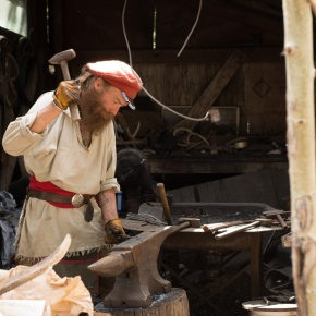 Ward blacksmith featured in second season of 're-wilding' series