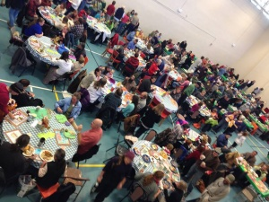 Nederland Community Thanksgiving Dinner takes place on Nov. 15, 2015.