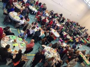 Nederland Community Thanksgiving Dinner takes place on Nov. 15, 2015.