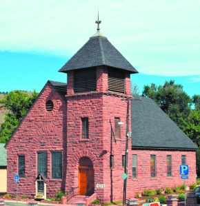 Lyons historic places showcase local sandstone