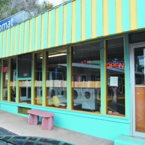 Lyons local gives laundromat new life, littlelibrary