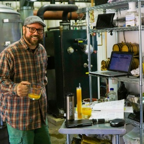 Brewery brings owner's tastes, talentstogether