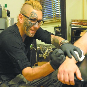 Tattoo artist's unique work will 'Make You Famous'