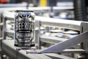 Oskar blues releases a specialty malt 'stache with Beerito Mexicanlager