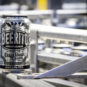 Oskar blues releases a specialty malt 'stache with Beerito Mexican lager