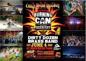 Oskar Blues Brewery's Burning Can Beer Fest returns to Lyons Outdoor Games, June4