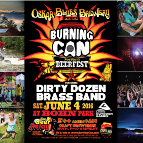 Oskar Blues Brewery's Burning Can Beer Fest returns to Lyons Outdoor Games, June 4