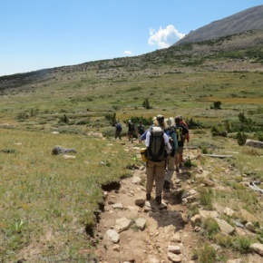 Explore high tales of Longs Peak, July 1