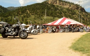 Weekend of fun at Rocky Mountain Rumble motorcycle rally