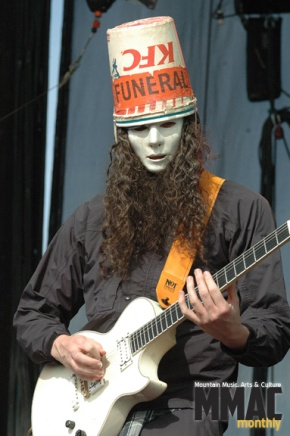 Virtuoso guitarist Buckethead performs at Boulder Theater, July23
