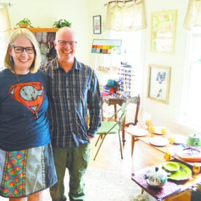 Store owners 'breathe new life' into vintageitems