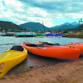 COVER: Enjoy scenic boating on region's high altitude lakes, rivers, creeks