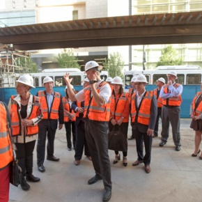World's first dual-branded AC Hotels and Le Méridien property 'tops off' construction inDenver