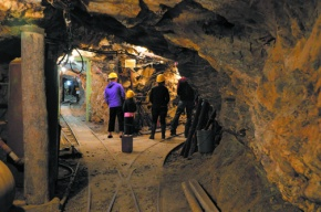 COVER: Mine tours, museums safe way to discover what's belowsurface