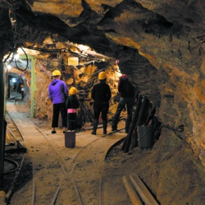 COVER: Mine tours, museums safe way to discover what's below surface