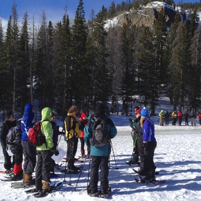 Conservancy offers snowshoeing trek for kids, families in National Park