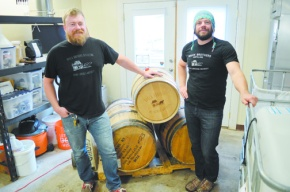 Brothers' enthusiasm for whiskey inspires distillery