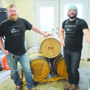 Brothers' enthusiasm for whiskey inspiresdistillery