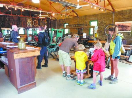 Ned Mining Museum Visitors
