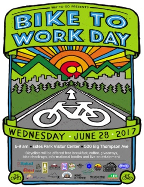 Join Estes Park's fifth annual Bike to Work Day, June28
