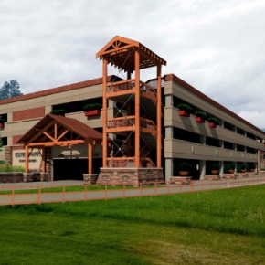 New Estes Park parking structure opens