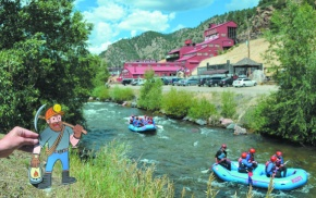 Mascot invites visitors to explore Clear Creek County
