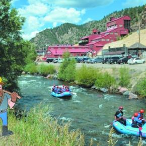 Mascot invites visitors to explore Clear CreekCounty