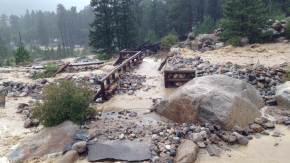 Work begins On Alluvial Fan Trail in Rocky Mountain National Park