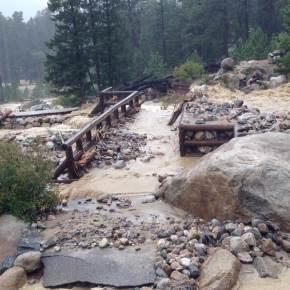 Work begins On Alluvial Fan Trail in Rocky Mountain NationalPark