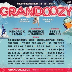 Grandoozy unveils inaugural 2018lineup