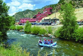 COVER: Outfitters offer raft trips from mild to wild