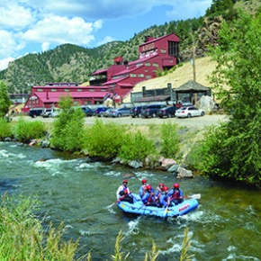 COVER: Outfitters offer raft trips from mild towild