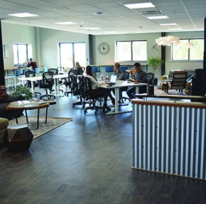 Hub Ned allows residents to work where theylive